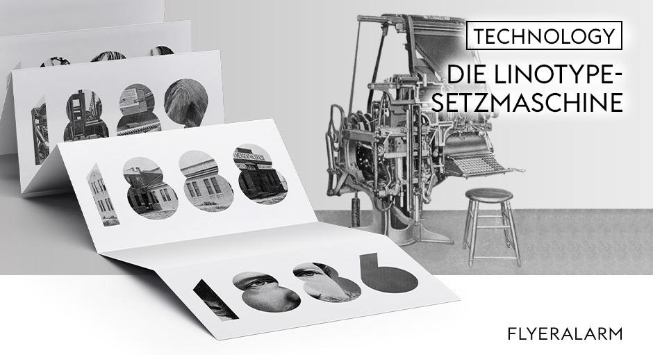 Geschichte des Drucks, Linotype-Setzmaschine