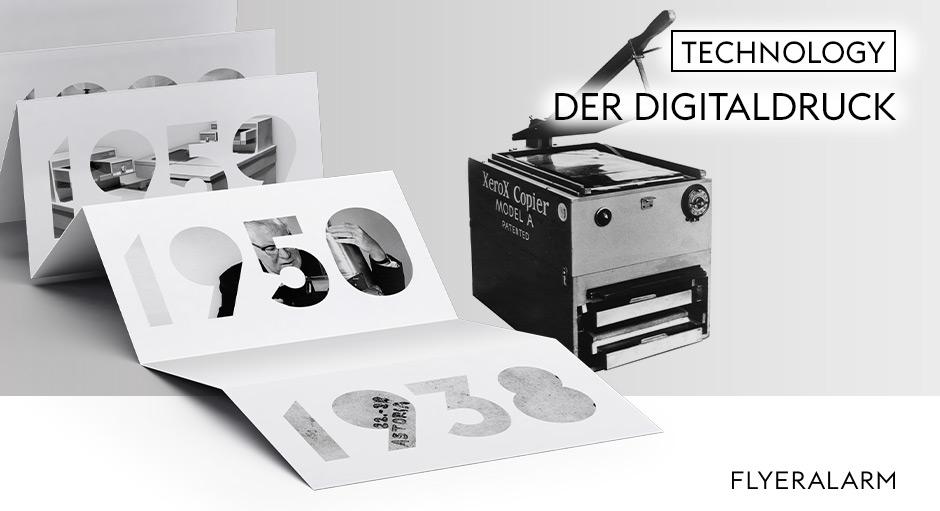 Geschichte des Drucks, Der Digitaldruck