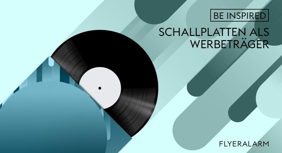 Schallplatten als Werbeträger