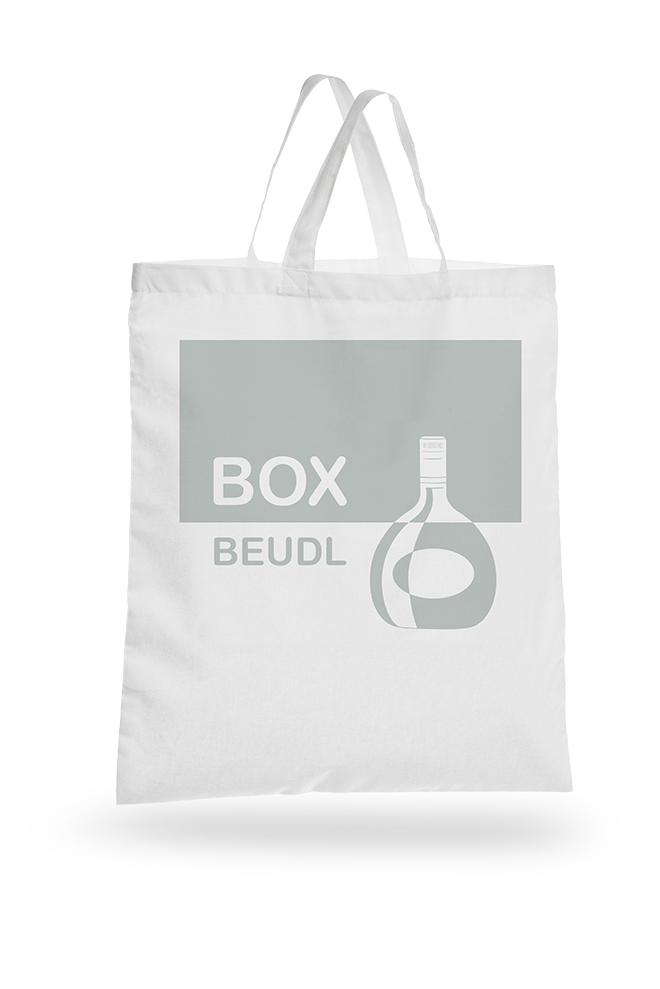 2-farbige Layoutvorlage Box-Beudl