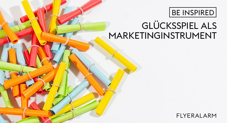 Glücksspiel als Marketinginstrument