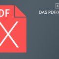 Das PDF/X Format