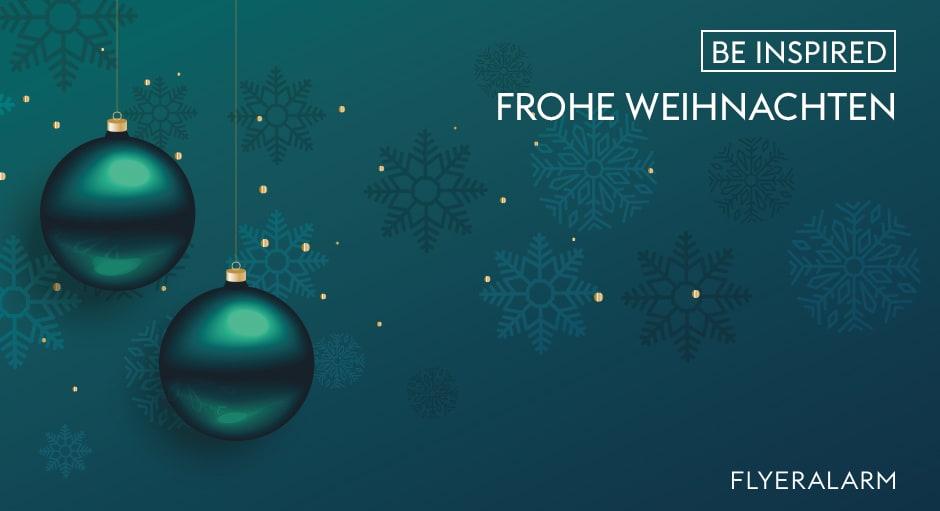 FLYERALARM wünscht frohe Weihnachten 2020