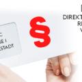 Gesetzliche Vorgaben für Direktmailing-Kampagnen