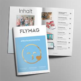 FLYMAG Ausgabe 3: Crossmedia und digitale Werbung
