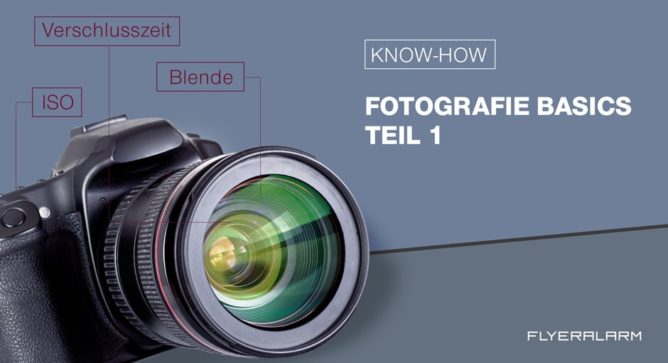 Fotografie Basics, Blende, Verschlusszeit und ISO