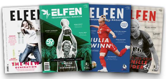 ELFEN - das Magazin der FLYERALARM Frauen-Bundesliga