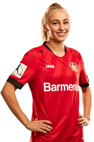 Frederike Kempe von Bayer 04 Leverkusen