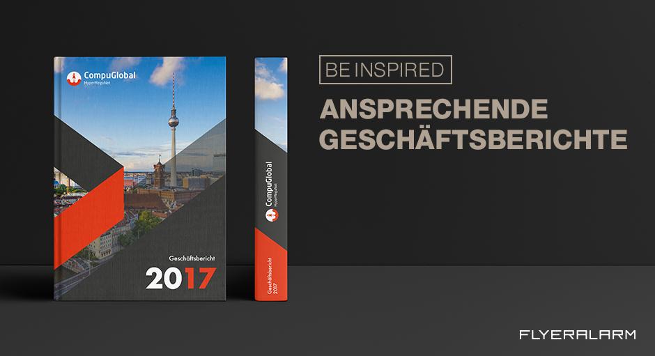 Geschäftsberichte grandios gestalten - Flyeralarm - Deutsch