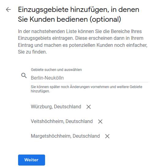 Google My Business Profil anlegen