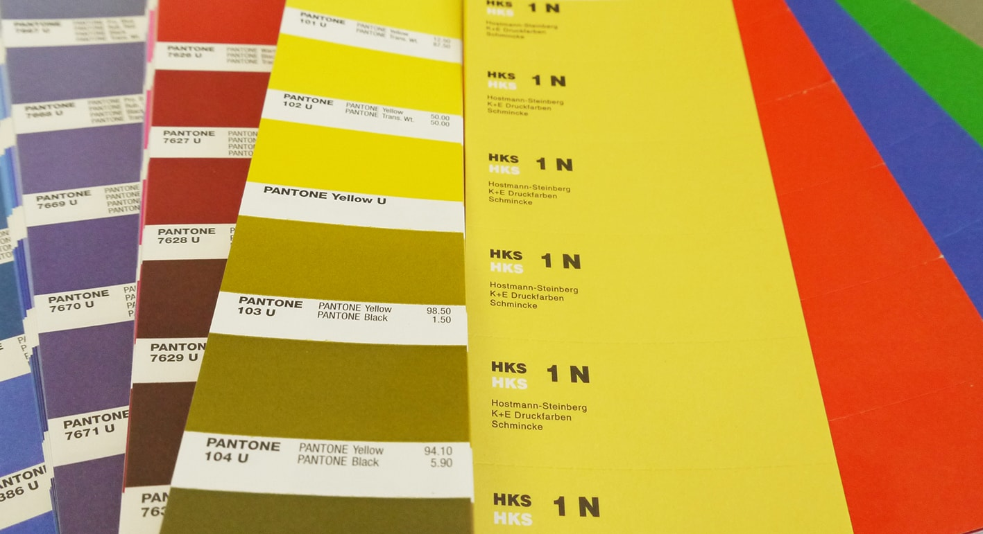 Sonderfarben Hks Und Pantone Flyeralarm De