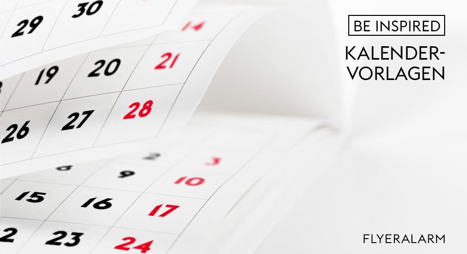 Kalender Vorlagen 2021