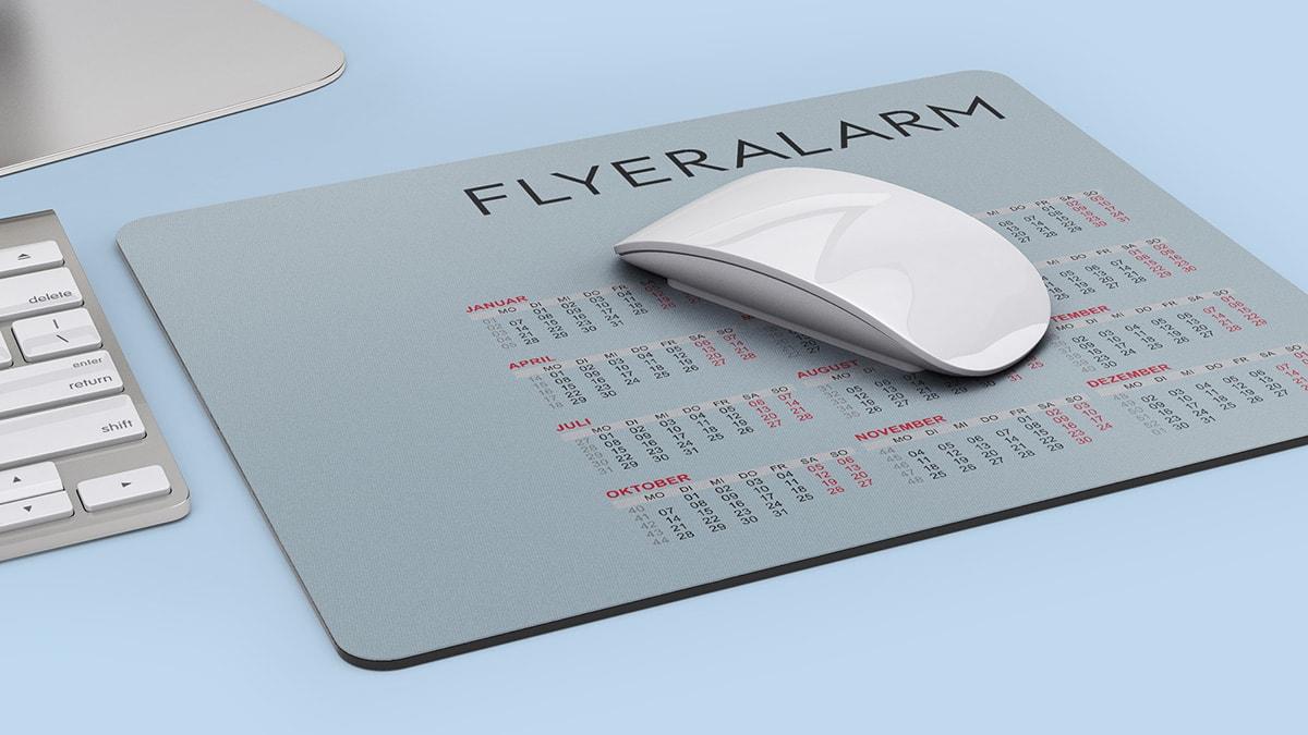Kalender Mousepad