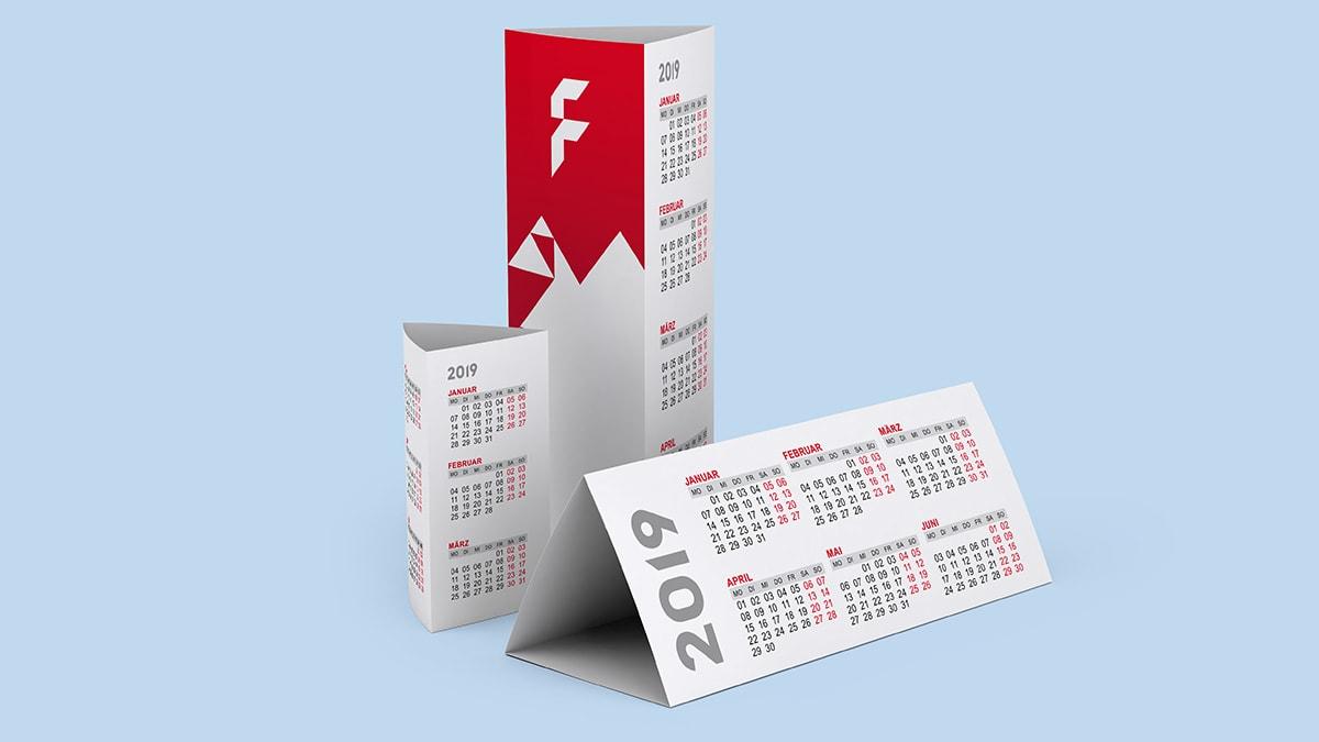 Kalender Aufsteller