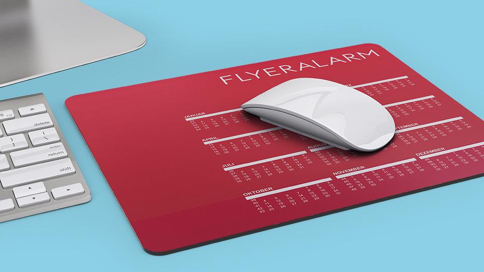 Kalendervorlagen für Mousepad
