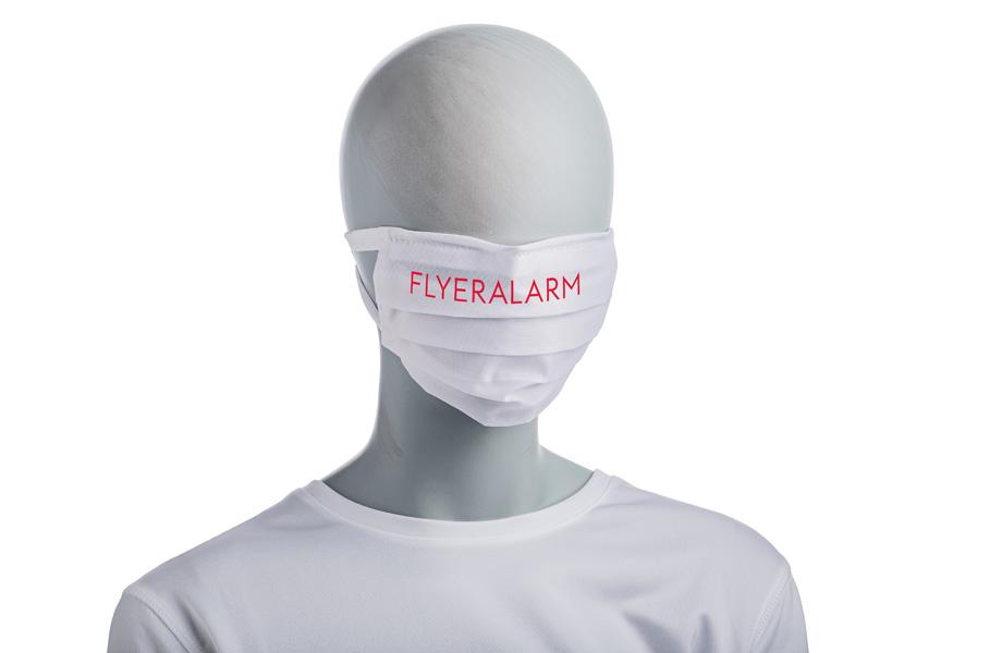 Mund-Nasen-Maske gefaltet