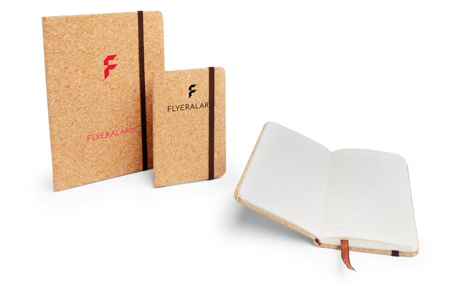 Notizbücher aus Kork sind nachhaltige Werbemittel
