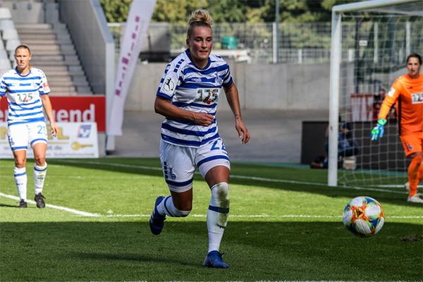 Nina Lange vom MSV Duisburg