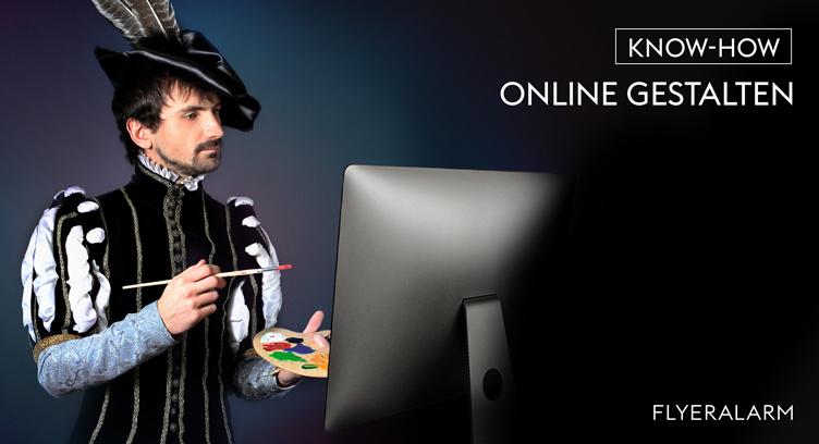 Werbemittel online gestalten