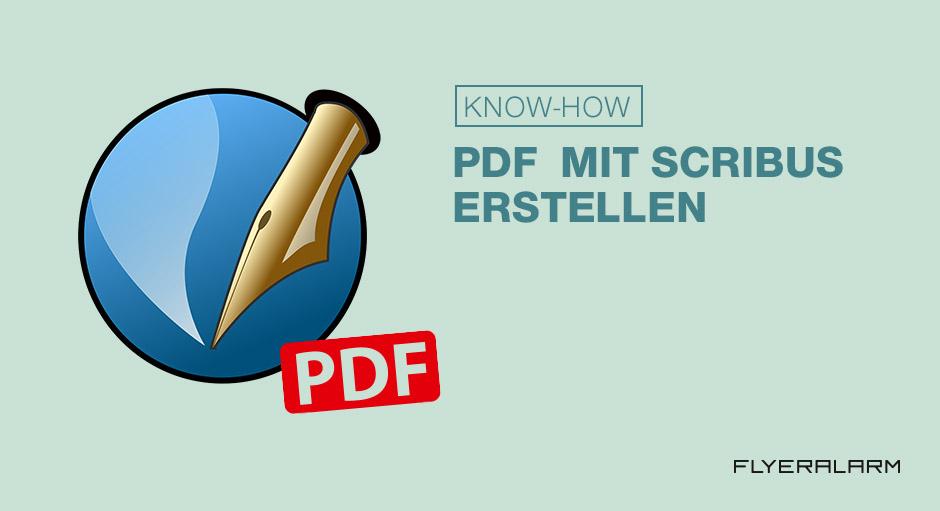 Erstellung einer PDF: Scribus