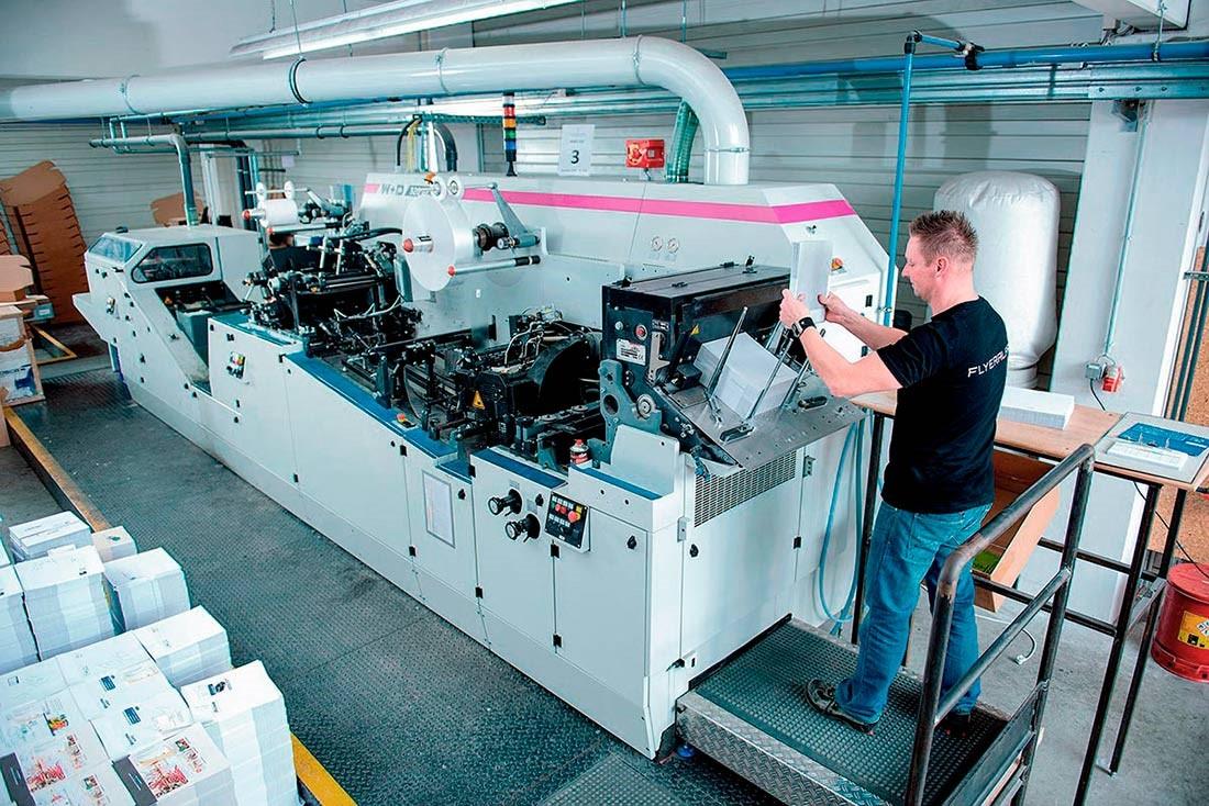 Produktion von Briefumschlägen
