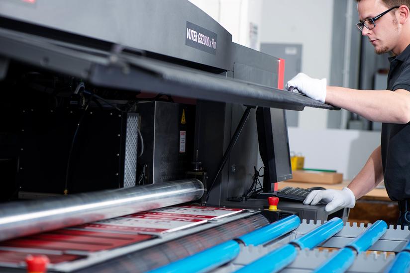 Produktion Pappaufsteller