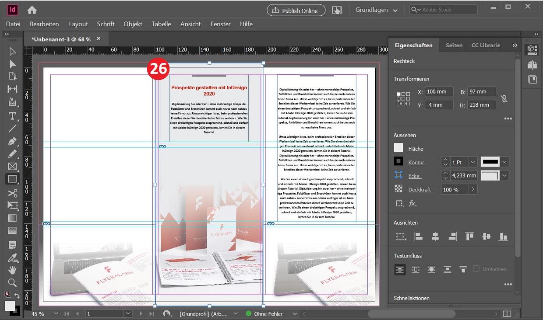 Screenshot 11: Hintergrundfarbe anordnen