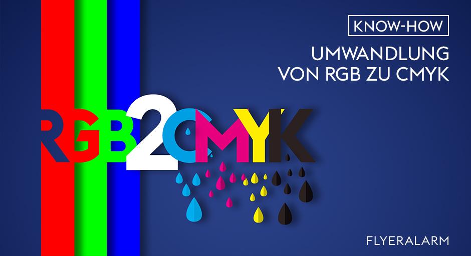 RGB in CMYK umwandeln