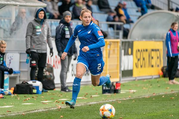 Sarai Lindner von der TSG 1899 Hoffenheim