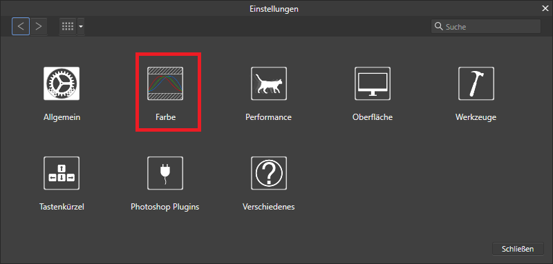 Mit Affinity Photo Farbeinstellungen vornehmen und JPEG exportieren