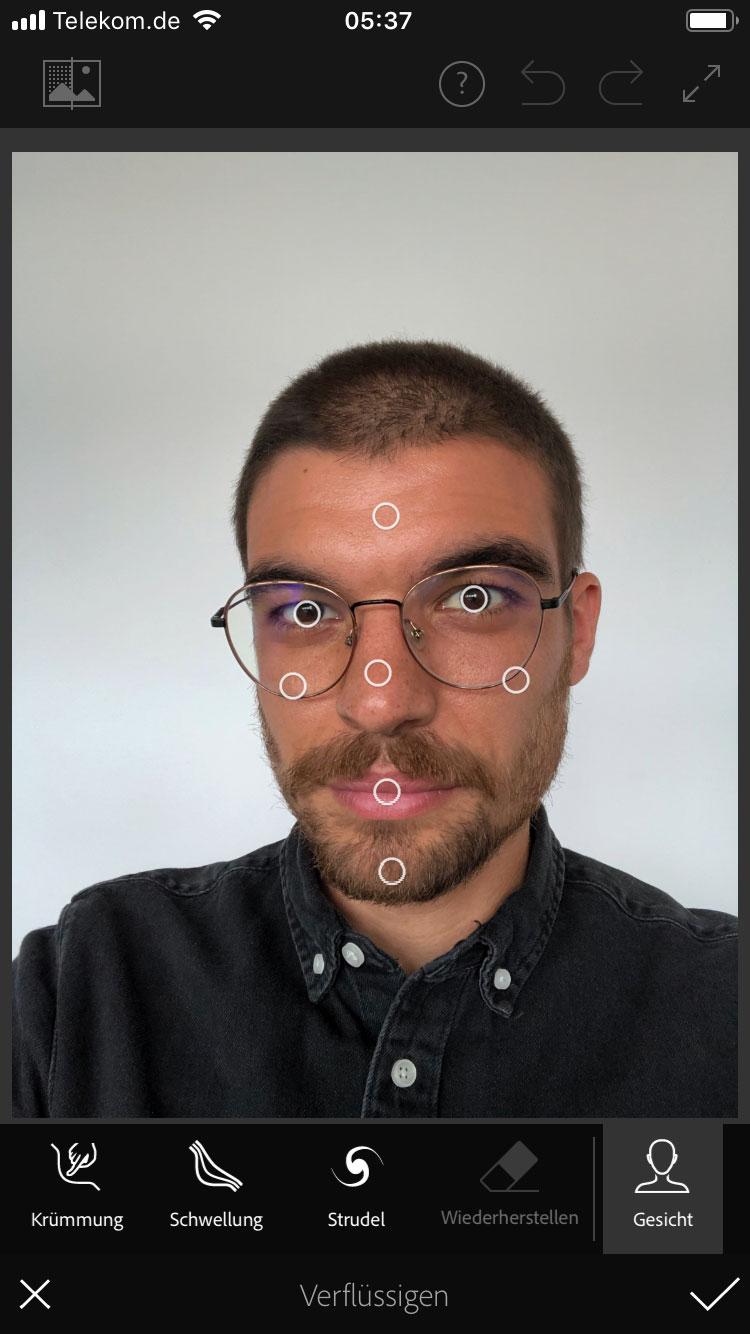 Photoshop Fix auf dem Smartphone nutzen