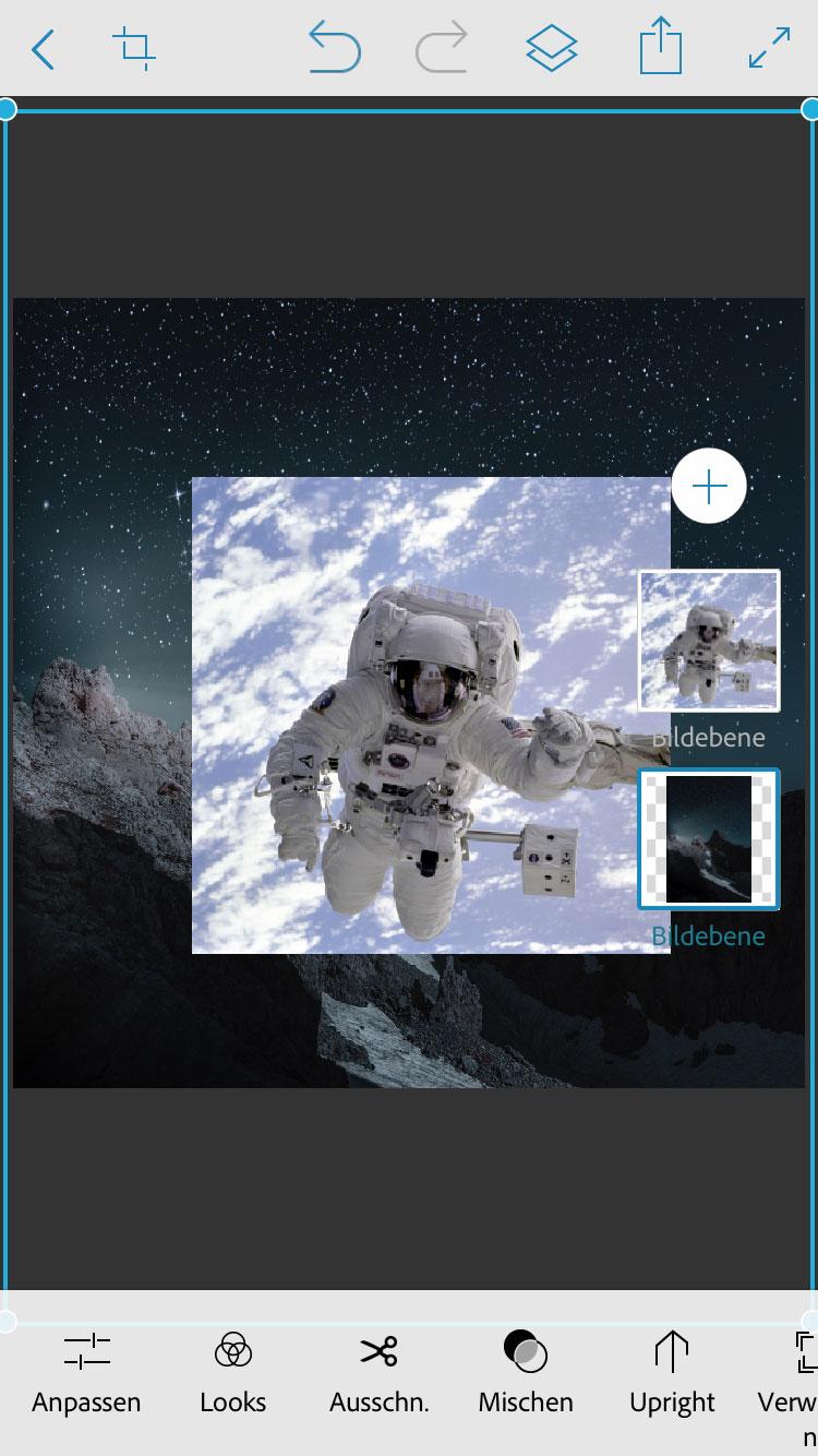 Kompositionen erstellen mit Photoshop Mix