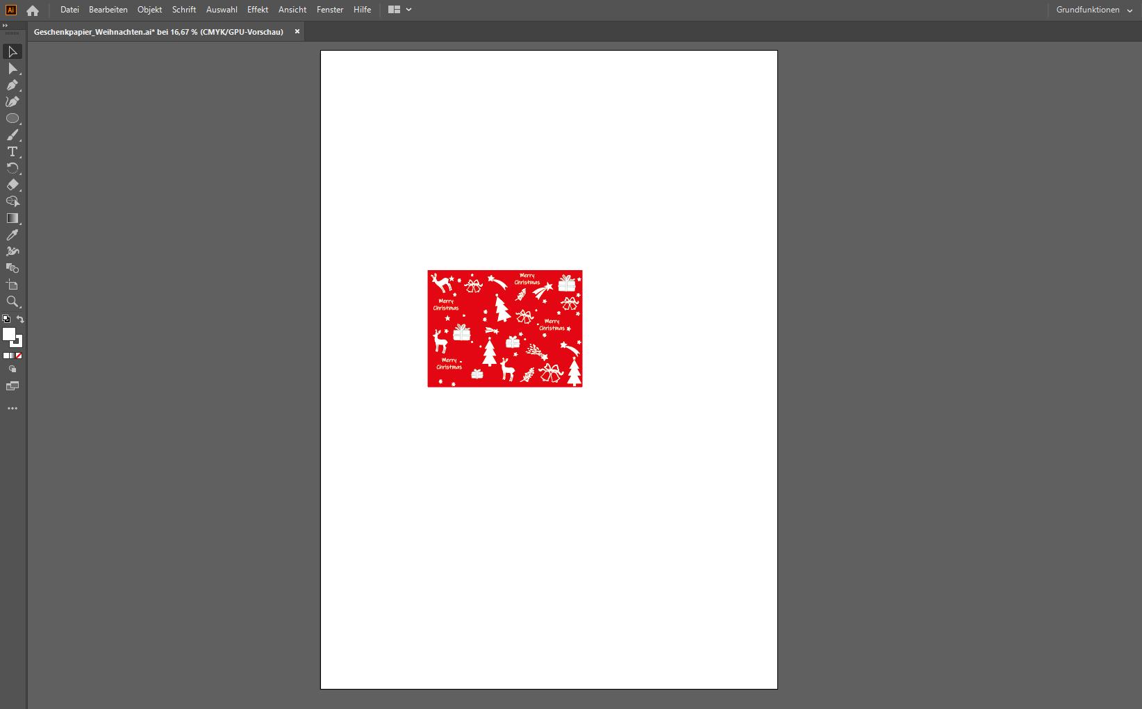 Endlosmuster erstellen mit Illustrator