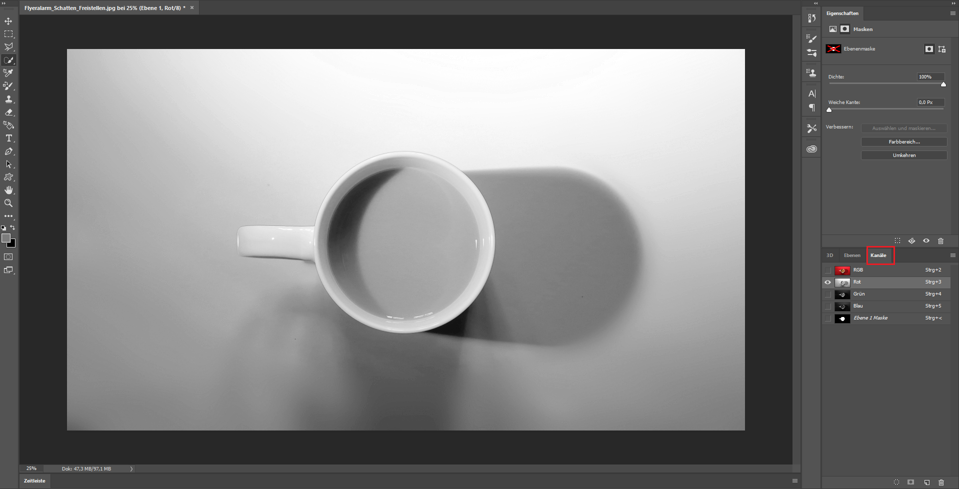 Schatten Photoshop