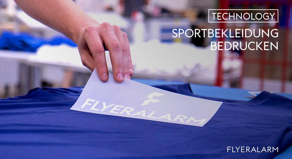 Sportbekleidung bedrucken bei FLYERALARM