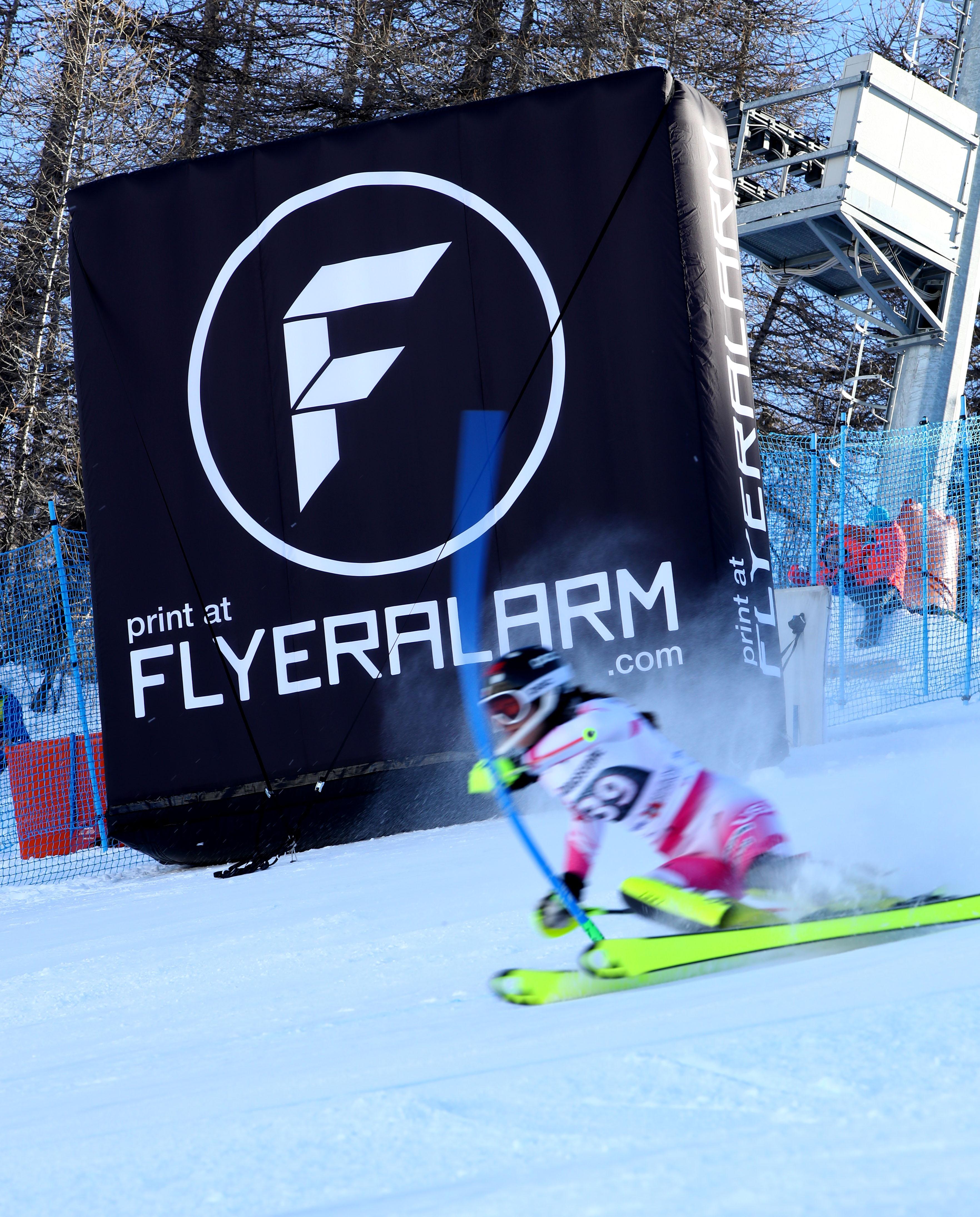 FLYERALARM Sportsponsoring Ski World Cup