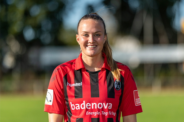 Stefanie Sanders vom SC Freiburg
