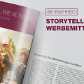 Storytelling auf Werbemitteln