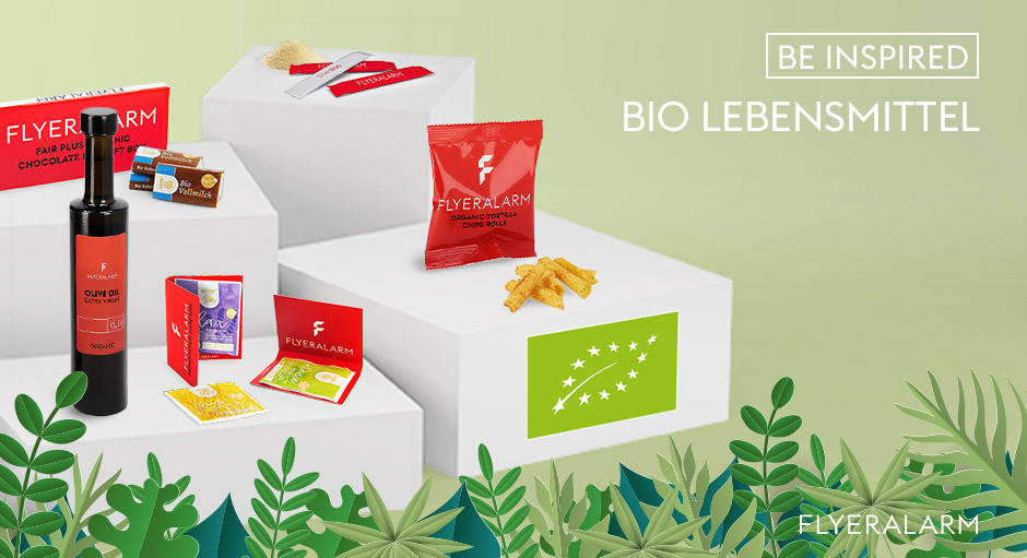 Bio-Lebensmittel bei FLYERALARM