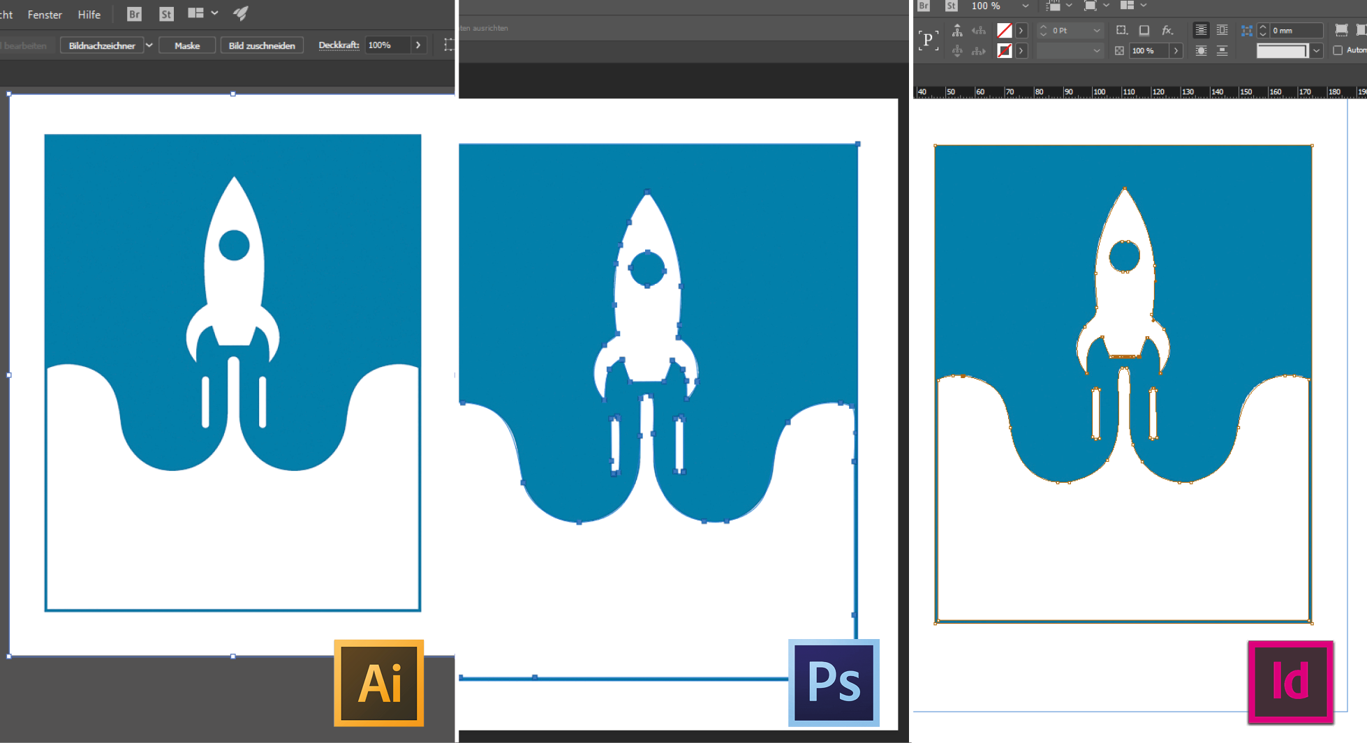 Tutorial: Converting pixel images into vector graphics with Illustrator, Photoshop and InDesign