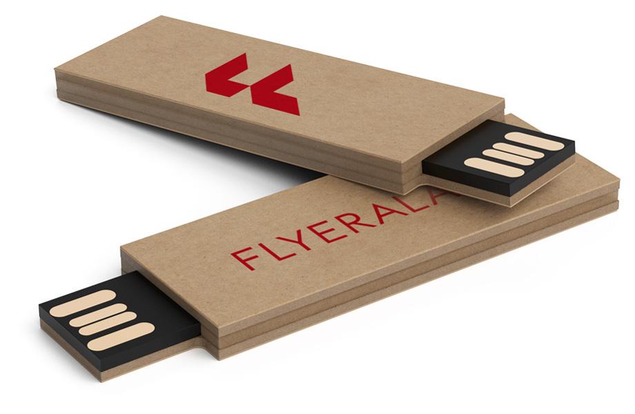 USB-Sticks aus Kraftkarton