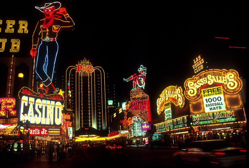 Leuchtreklame Las Vegas
