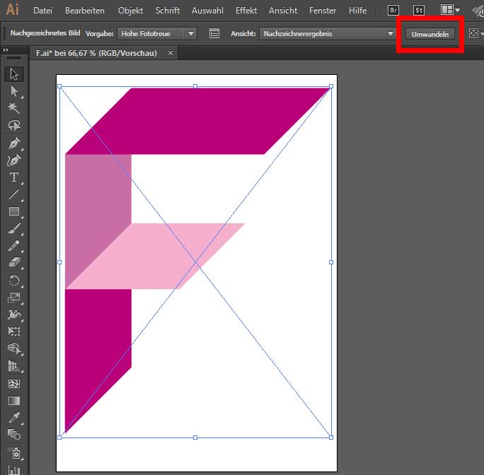 Pixelbilder umwandeln in Vektorgrafiken Illustrator