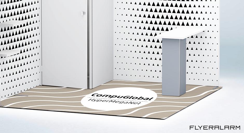 schritt fr schritt vinylboden als werbetrger flyeralarm deutsch - Werbetrager Beispiele