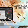 Volltonfarbe anlegen in Affinity Publisher