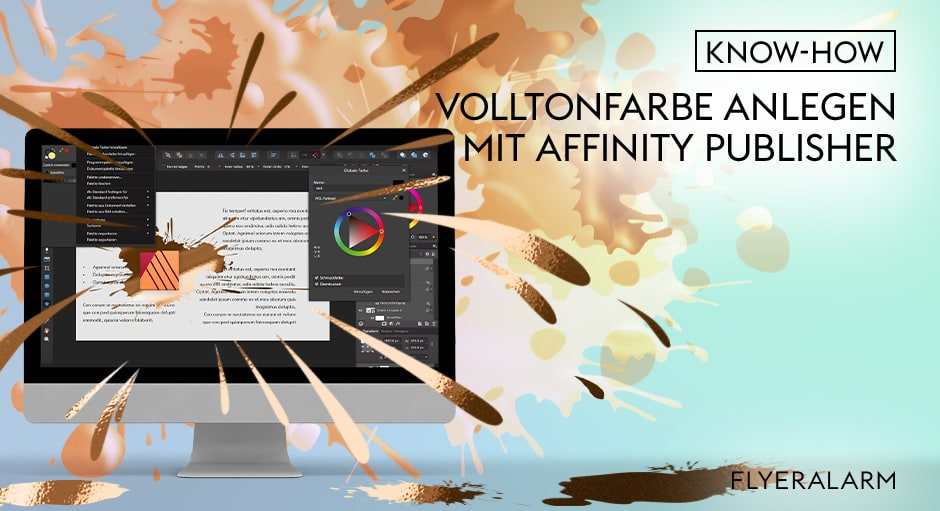 Tutorial: 5. Farbkanal in Affinity Publisher anlegen