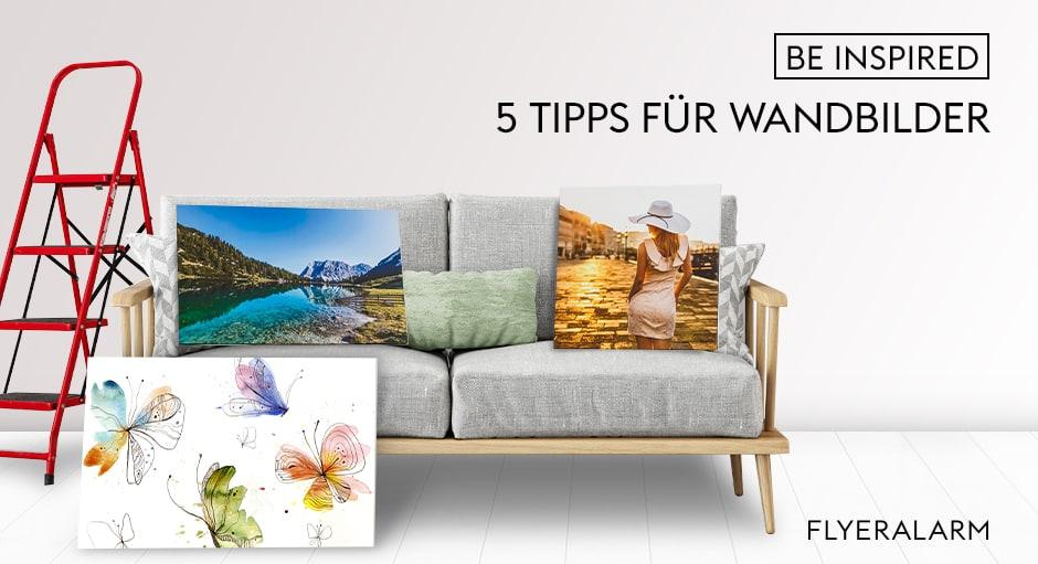 5 Tipps für Wandbilder