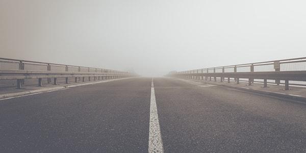 nebula cloud sunrise motorway