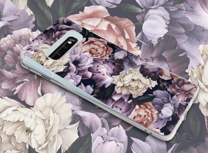Handyhülle mit Blumen