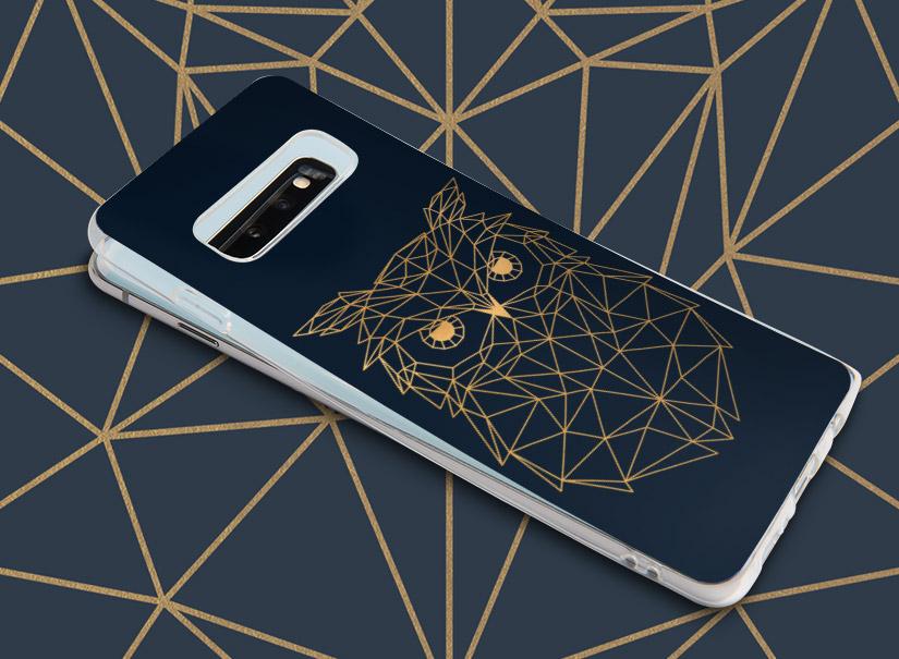 Smartphone Case mit Eule